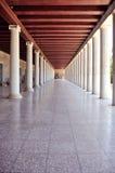 Stoa van Attalus, Athene, Griekenland Stock Fotografie
