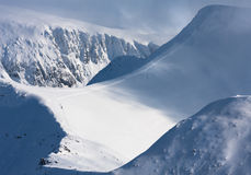 Stob Ban Scottish Highlands. Royalty Free Stock Photography