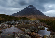 Stob Dearg (Buachaille Etive Mor) mountain Royalty Free Stock Photography