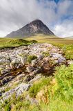 Stob Dearg peak Royalty Free Stock Images