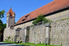 Stoberleinsturm, Rothenburg o d 陶伯,德国 免版税库存照片