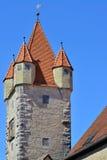 Stoberleinsturm, Rothenburg o d 陶伯,德国 库存图片