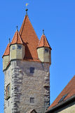 Stoberleinsturm, Rothenburg o d Tauber, Niemcy Obrazy Stock