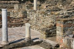 Stobi, Macedonia royalty free stock photo