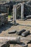 Stobi, Macedonia. Archaeologilcal site in Stobi, Macedonia Royalty Free Stock Photo