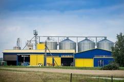 Stoccaggio del grano Fotografie Stock Libere da Diritti