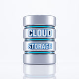 Stoccaggio della nuvola Immagine Stock