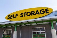 Stoccaggio di auto Fotografie Stock