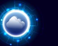 Stoccaggio di calcolo di bigdata di transazione commerciale del server della nuvola nuovo royalty illustrazione gratis
