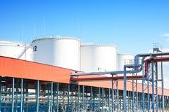Stoccaggio di petrolio Immagine Stock Libera da Diritti