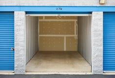 Stoccaggio: Unità di stoccaggio vuota Fotografie Stock