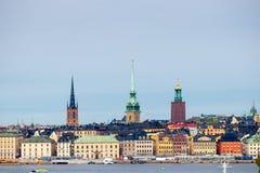 Stoccolma Città Vecchia Immagine Stock