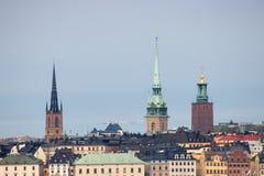 Stoccolma Città Vecchia Fotografie Stock Libere da Diritti