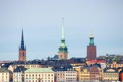 Stoccolma Città Vecchia Fotografia Stock Libera da Diritti