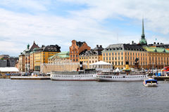 Stoccolma - Gamla Stan Immagini Stock