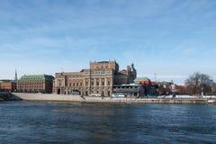 Stoccolma, la vecchia città Fotografie Stock Libere da Diritti