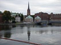 Stoccolma nella caduta Fotografia Stock