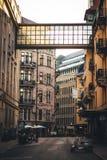 Stoccolma persino durante l'estate fotografia stock