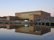 Stoccolma Royal Palace Fotografia Stock Libera da Diritti