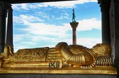 STOCCOLMA, SVEZIA - 20 AGOSTO 2016: Cenotafio di Birger Jarl Bi Fotografie Stock