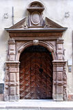 Stoccolma, Svezia, entrata principale antica nella vecchia città Fotografia Stock Libera da Diritti