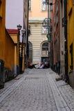 Stoccolma, Svezia, gioventù nelle vie Fotografia Stock