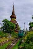 Stoccolma, Svezia, trasporto funicolare di Skansen Fotografia Stock Libera da Diritti