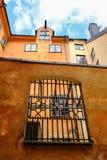 Stoccolma, Svezia, una vecchia casa Fotografie Stock
