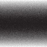 Stochastic raster halftone gradient print Royalty Free Stock Photos