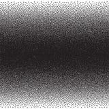Stochastic raster halftone gradient print Royalty Free Stock Photos