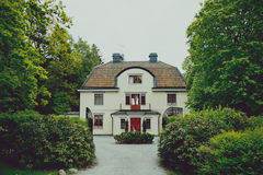 Stocholm-Häuschen lizenzfreies stockfoto