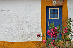 Stock_00009. Typical Door from Portugal Stock Photography