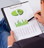 Stock. Market graphs monitoring. accounting Stock Photos