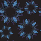 Stock  abstract seamless  pattern. orient floral ornament. Royalty Free Stock Image