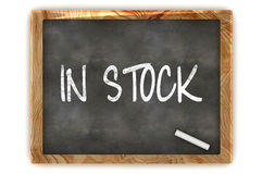 In Stock Blackboard Stock Image