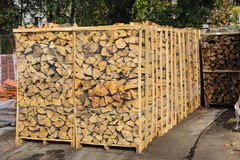 Stock boards firewood Stock Photos