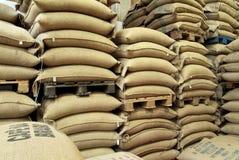 Free Stock Burlap Sacks Full Of Coffee Stock Photography - 75586312