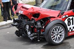Stock car Acident Stock Images