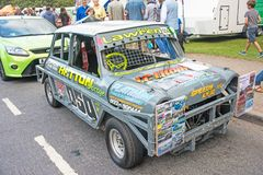 Stock car at Motor Mania royalty free stock photos