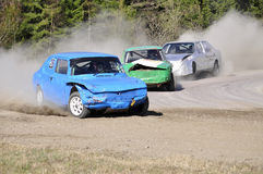 Stock car race stock images