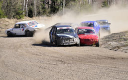 Stock car race Royalty Free Stock Photos