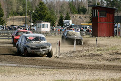 Stock Car Race Royalty Free Stock Image