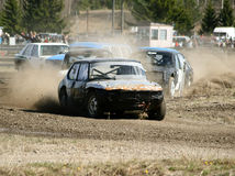 Stock Car Race Royalty Free Stock Images