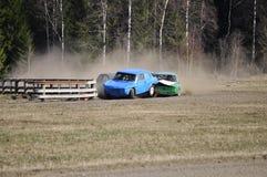 Stock car race Royalty Free Stock Photo