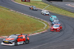 Stock Car Race Interlagos Sao Paulo Brazil Royalty Free Stock Images