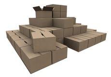 Stock of Cardboard. Cardboard stock illustration