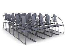 A stock of chairs Royalty Free Stock Images