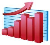 Stock  chart Royalty Free Stock Image