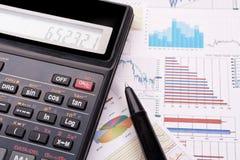 Stock chart Stock Image