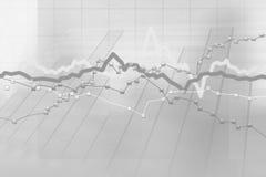 Stock charts computer diagram. Abstract gray background of stock charts computer diagram Royalty Free Stock Image